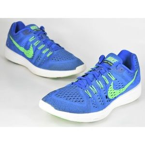 Nike Lunartempo Blue Green Men's Size 13 Shoes